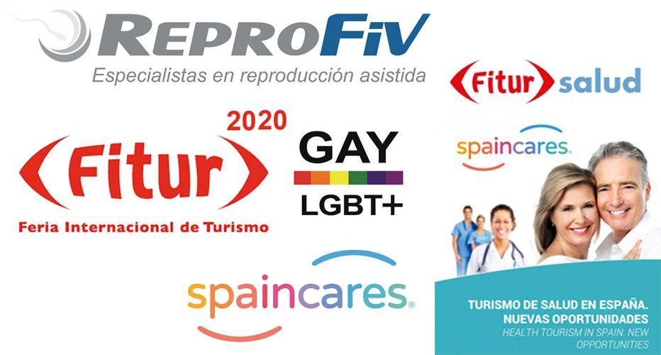 REPROFIV en la Feria Internacional de Turismo. IFEMA 2020, Feria de Madrid.