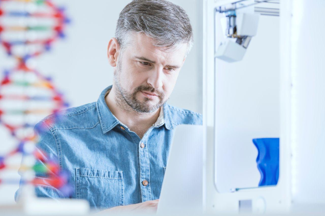 laboratorio hombre
