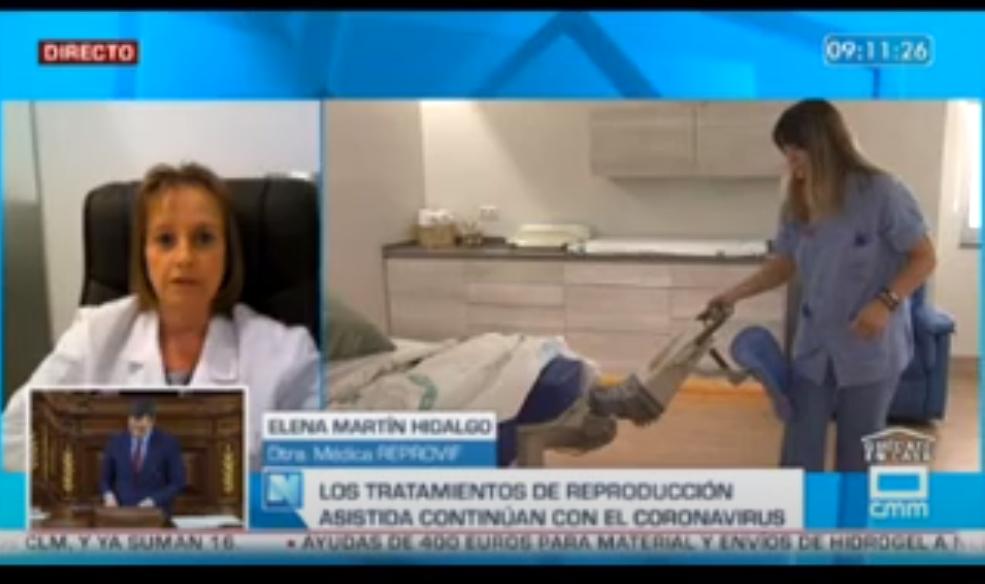 Entrevista en Castilla-La Mancha Media