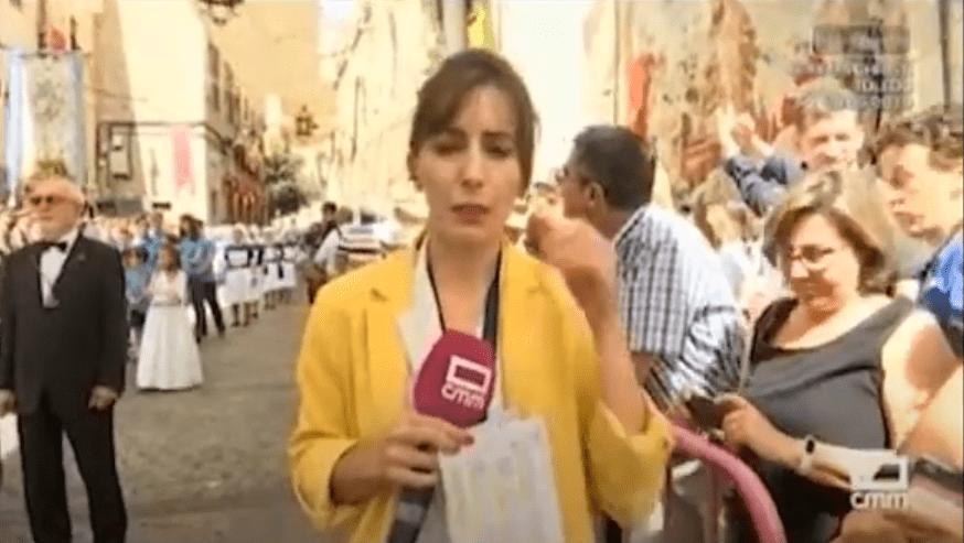 Patrocinamos la procesión del Corpus en Toledo