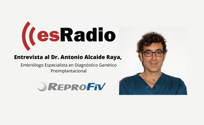 Entrevista al Dr. Antonio Alcaide Raya en Es Radio